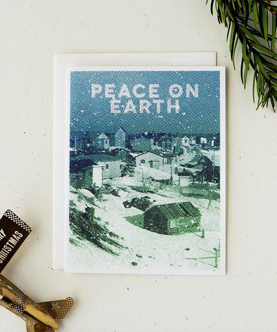Peace On Earth Holiday Card