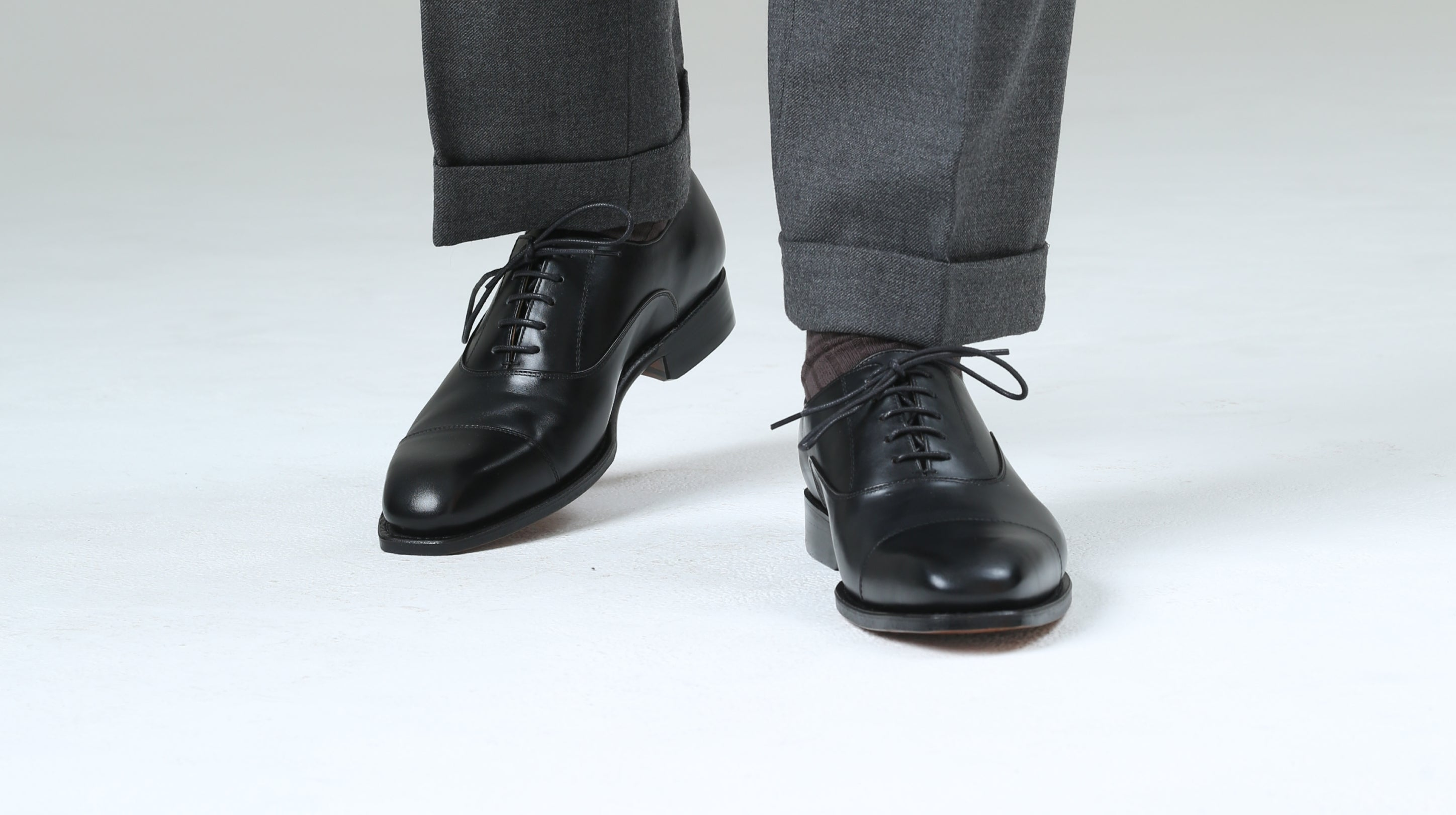 The Wordsworth captoe oxford, an office workers staple shoe