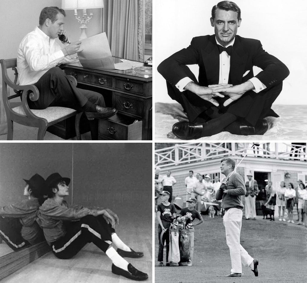 Icons and their penny loafers