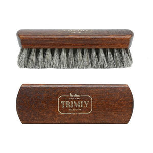 Premium Horsehair Shoe Brush