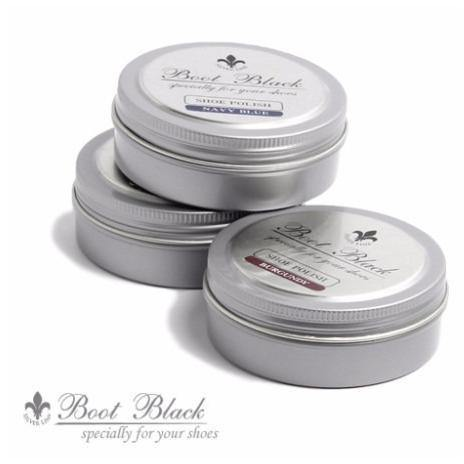 Boot Black Silver Line Shoe Polish - Trimly