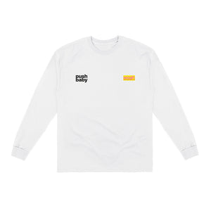 push baby two logo longsleeve t-shirt + digital ep