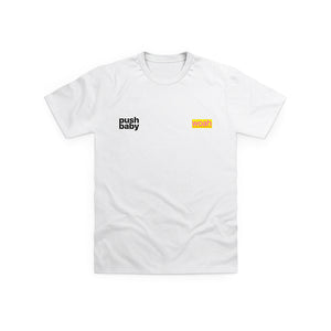 push baby two logo t-shirt + digital ep
