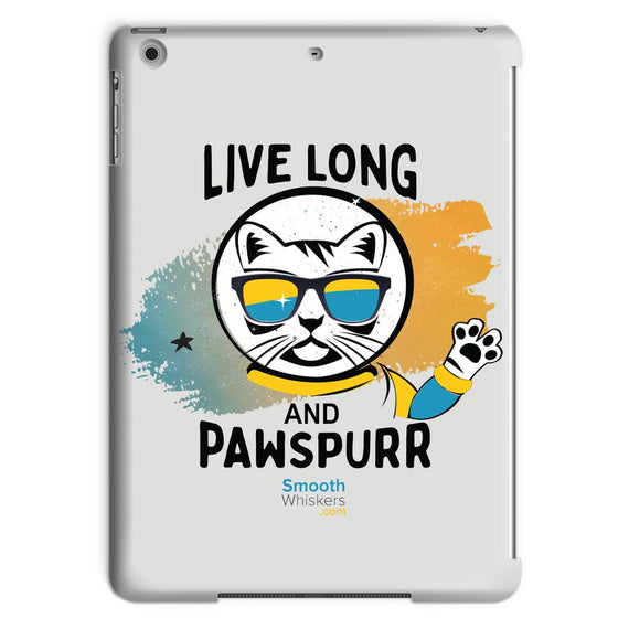 Live Long & Pawspurr Tablet Case