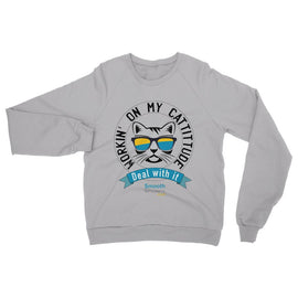 Cattitude Womens Sweatshirt