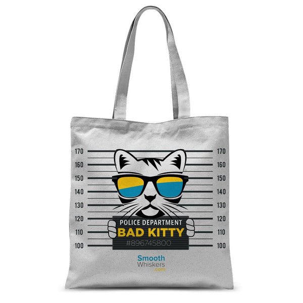 Bad Kitty Sublimation Tote Bag