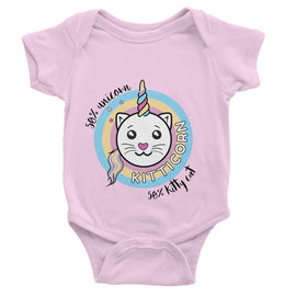Kitticorn Baby Bodysuit
