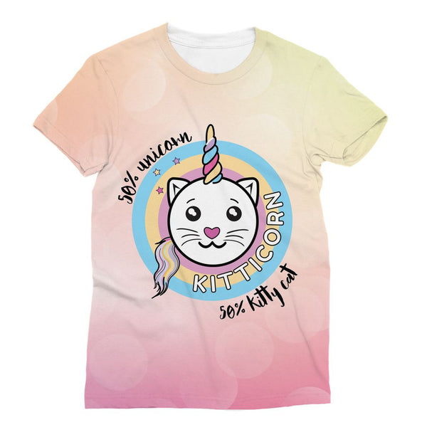 Kitticorn Sublimation T-Shirt