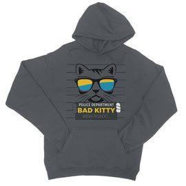 Bad Kitty College Hoodie