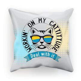 Cattitude Cushion