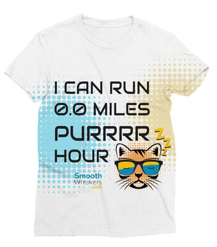 0.0 Miles Purrrr Hour Sublimation T-Shirt