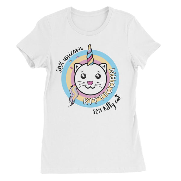 Kitticorn Womens Favourite T-Shirt