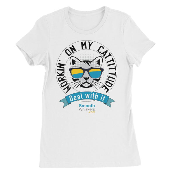 Cattitude Womens Favourite T-Shirt
