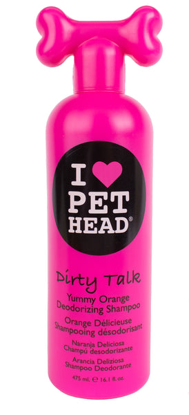 Pet Head Dirty Talk Shampoo 475ml Yummy Orange (SRP £9.99)