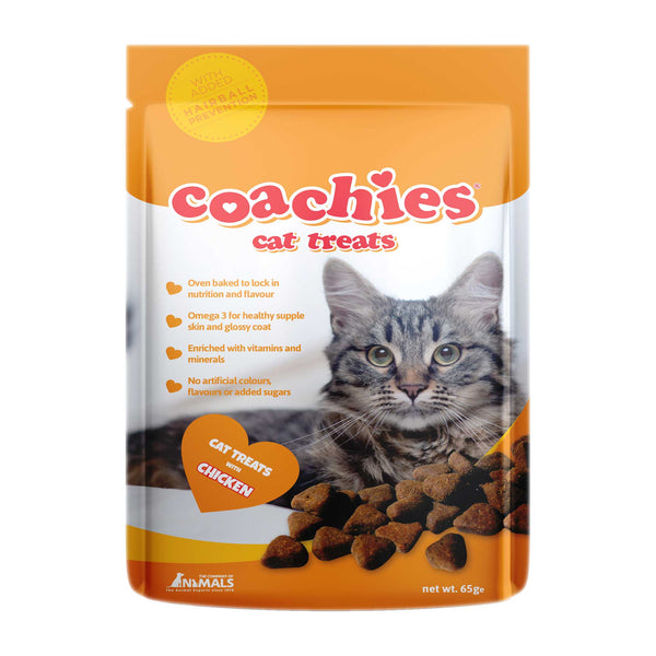 Coachies Cat Treats Chicken 65g