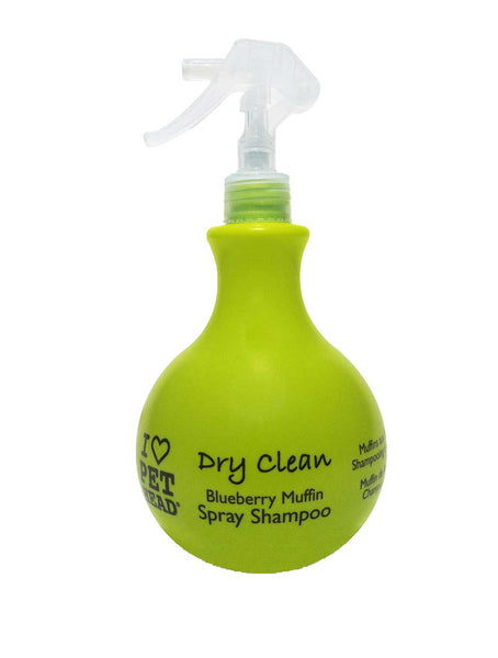 Pet Head Dry Clean Spray 450ml Blueberry/Muffin (SRP £9.99)