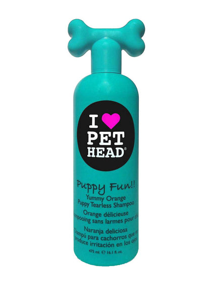 Pet Head Puppy Fun 475ml Yummy Orange (SRP £9.99)