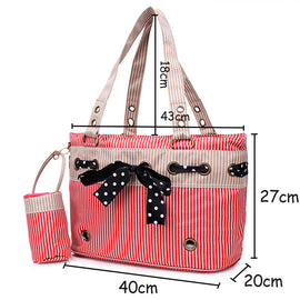 Washable Nylon Cat Travel Carrier
