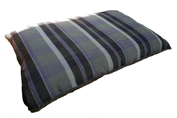 Camden Comfy Cushion Large Purple Check (SRP £51.99)