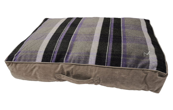 Camden Sleeper Large (71x107x13cm) Purple Check (SRP £39.99)
