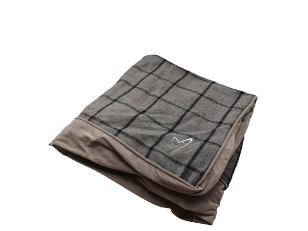 Camden Sleeper Cover Large Grey Check (SRP £21.49)