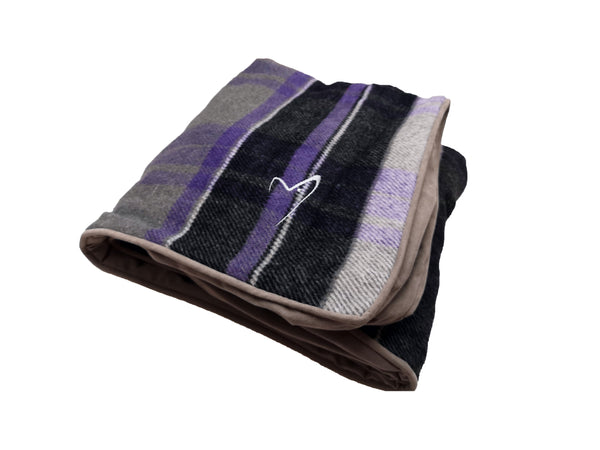 Camden Sleeper Cover Medium Purple Check (SRP £14.99)