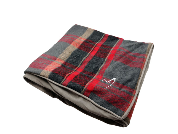 Camden Sleeper Cover Large Red Check (SRP £21.49)