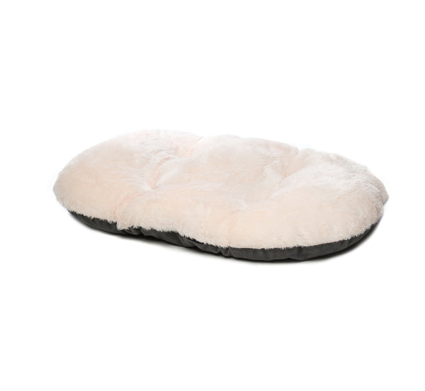 "Nordic Oval Cushion 60cm (24"") Grey (SRP £12.99)"