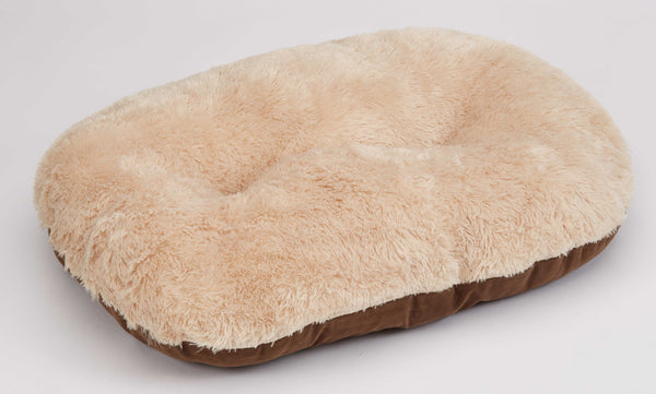 "Nordic Oval Cushion 80cm (32"") Brown (SRP £18.99)"