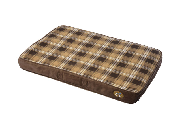 Essence Lounger Medium (56x81x8cm) Brown Check (SRP £19.99)