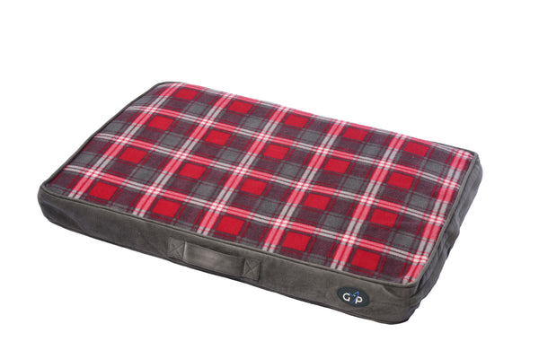 Essence Lounger Medium (56x81x8cm) Red Check (SRP £19.99)