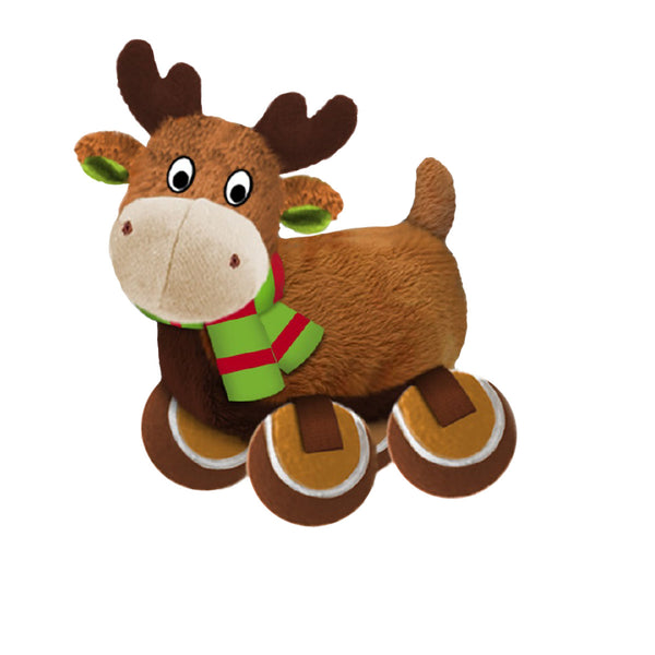 Kong Holiday TenniShoes Reindeer Large (SRP £9.49)