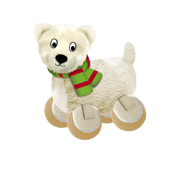 Kong Holiday TenniShoes Polar Bear Small (SRP £6.99)
