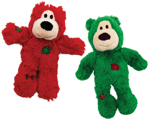 Kong Holiday Knots Wild Bears Sm/Md (SRP £6.75)