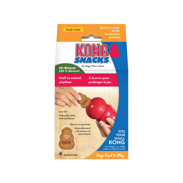 Kong Snacks Bacon & Cheese Small 200gm (SRP £5.69)