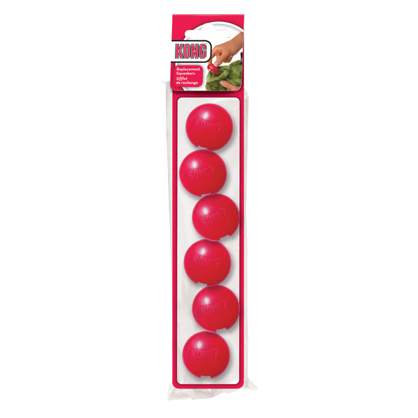 Kong Replacement Squeaker Small (6pk) (SRP £1.49)