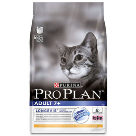 Purina Pro Plan Adult Cat 7+ with Chicken 1.5kg