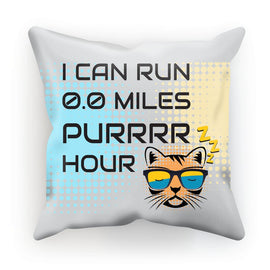 0.0 Miles Purrrr Hour Cushion