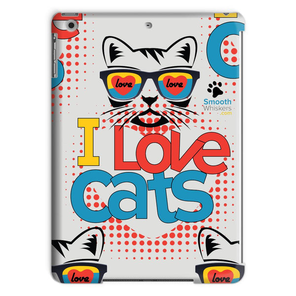 I Love Cats Tablet Case