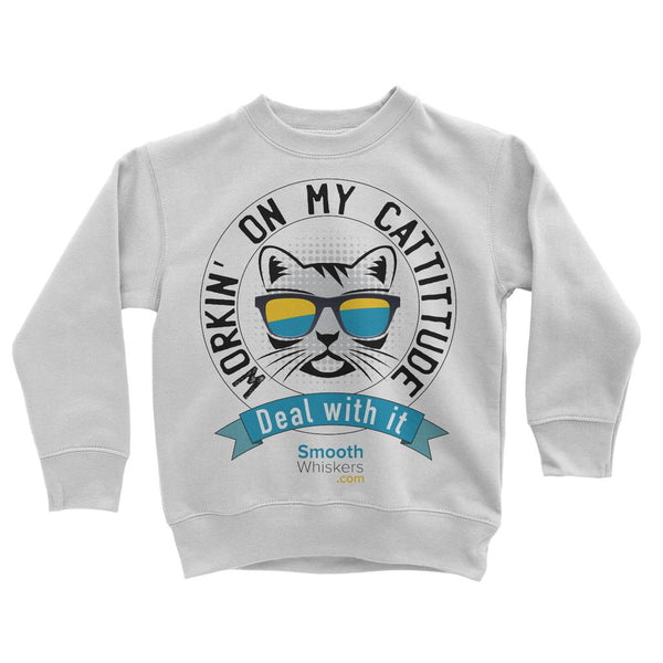 Cattitude Kids Sweatshirt