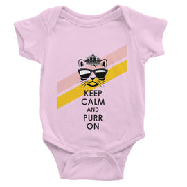 Purr On Baby Bodysuit