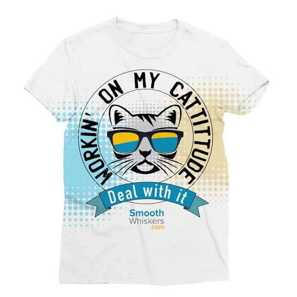 Cattitude Sublimation T-Shirt