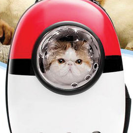 Pet Carrier Bag Backpack Capsule Dog Cat Astronaut Breathable Outdoor Travel