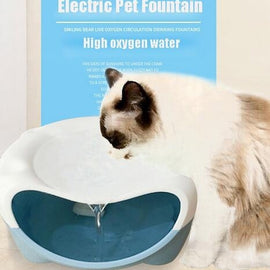 Pet Dog Cat Water Fountain Healthy Hygienic USB Electric Water Dispenser Dog Cat Drinking Fountains