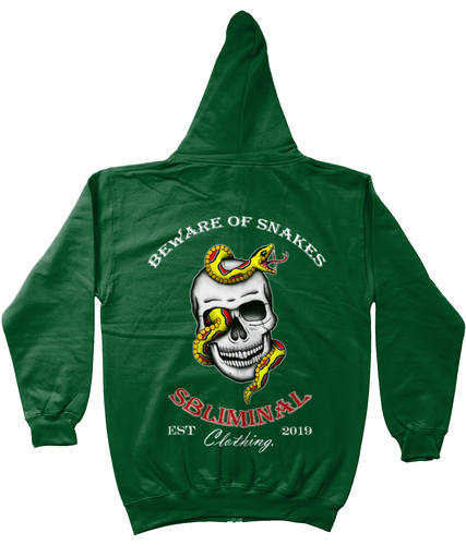 Beware of Snakes Zip Up