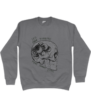 Load image into Gallery viewer, Less Thinking More Living Sweatshirt