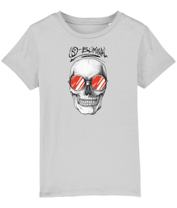 Kids Unisex SBliminal Skull Shades (Red)