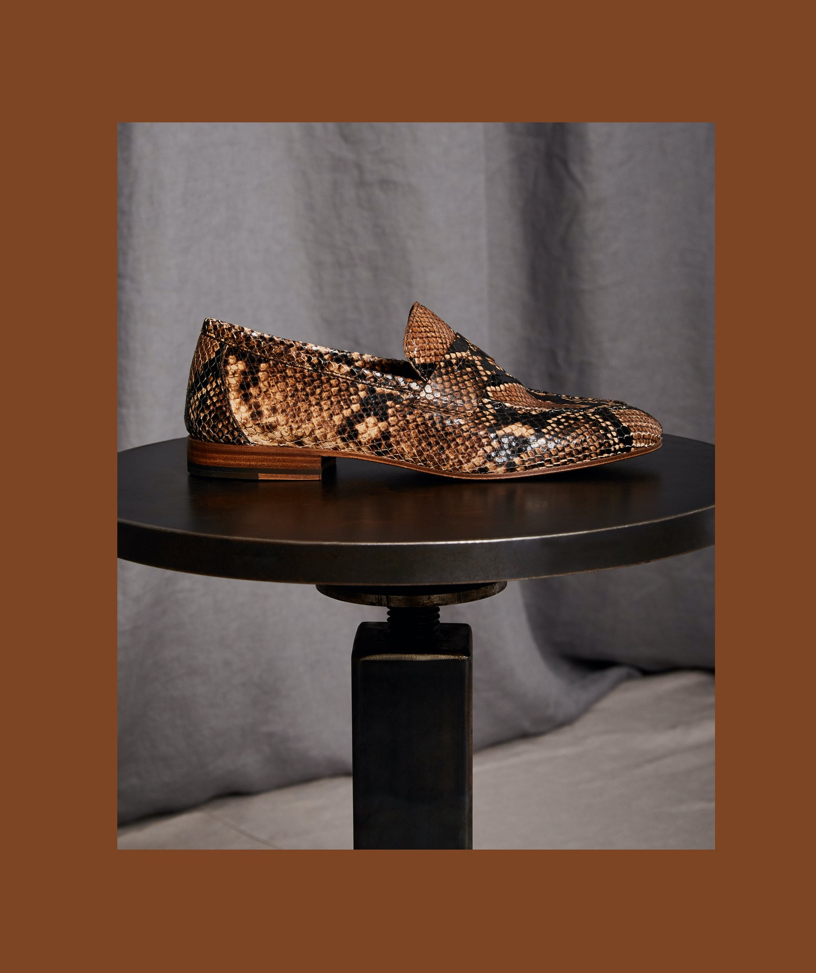The Sacca Donna Python Printed Leather
