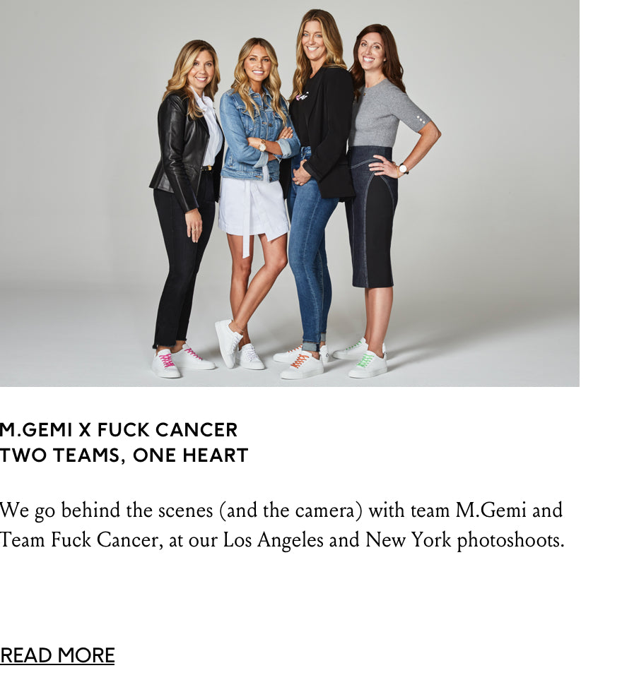 journal story- behind the scenes of teams MGemi and Fuck Cancer