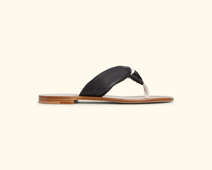 The Limone - LEATHER THONG SANDAL - M.Gemi